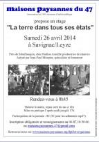La Terre dans tous ses états - 26 avril, Lot-et-Garonne